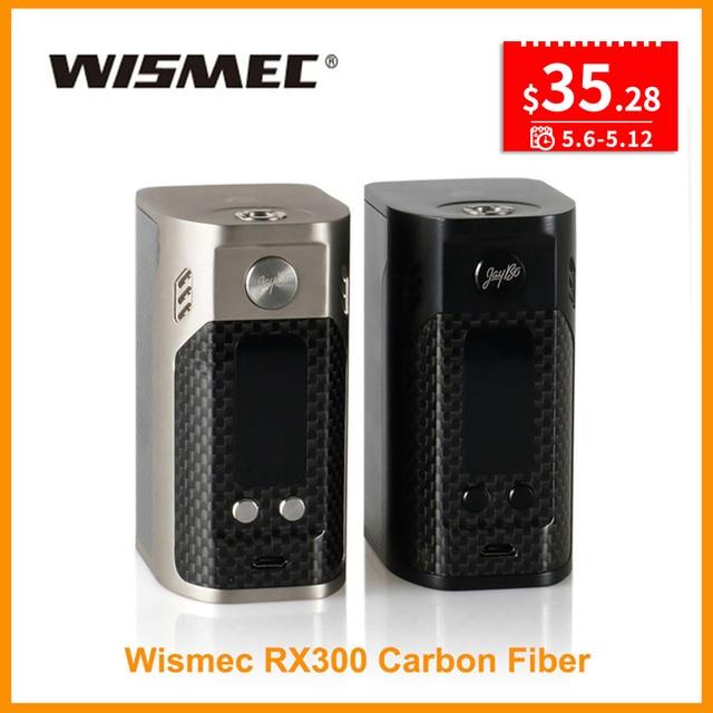 Русский склад 100% оригинальный Wismec reuleaux RX300 TC поле Mod VW/TC Wismec RX300 серии с большой OLED Экран RX200S RX 300
