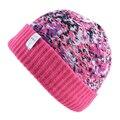 Новый стиль шапочки Женщины Зимние Шапки Мужчины Вязаный шерстяной шапочки кости Хип-Хоп Cap маска шляпы для женщины Высокого качества вскользь skullies