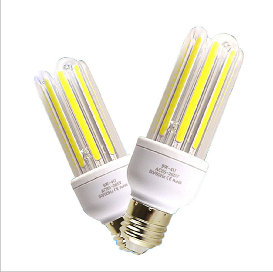 Led Bulb E27 COB 3W-40W 2835SMD Led Corn Light LED Energy Saving Lamps White/Warm White AC85-265V 680lm mr16 7w cob warm white led spot bulb energy saving light 85 265v