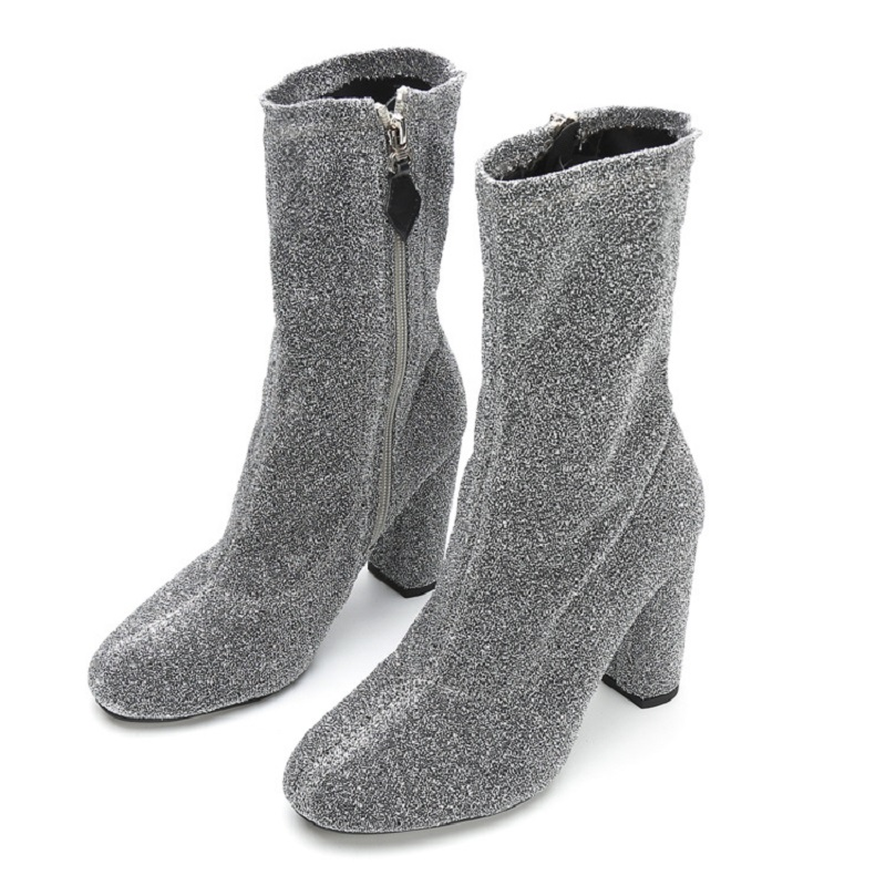 dwayne Spring and Autumn new short boots womens shoes sexy high-heeled shoes stretch boots