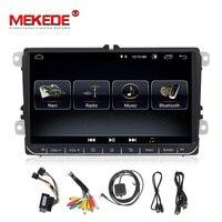 Mekede Car Multimedia player 2 Din Car DVD For VW/Volkswagen/Golf/Polo/Tiguan/Passat/b7/b6/SEAT/leon/Skoda/Octavia Radio GPS DAB