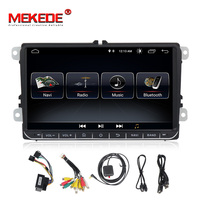 Mekede Car Multimedia player 2 Din Car DVD For VW/Volkswagen/Golf/Polo/Tiguan/Passat/b7/b6/SEAT/leon/Skoda/Octavia Radio GPS DAB