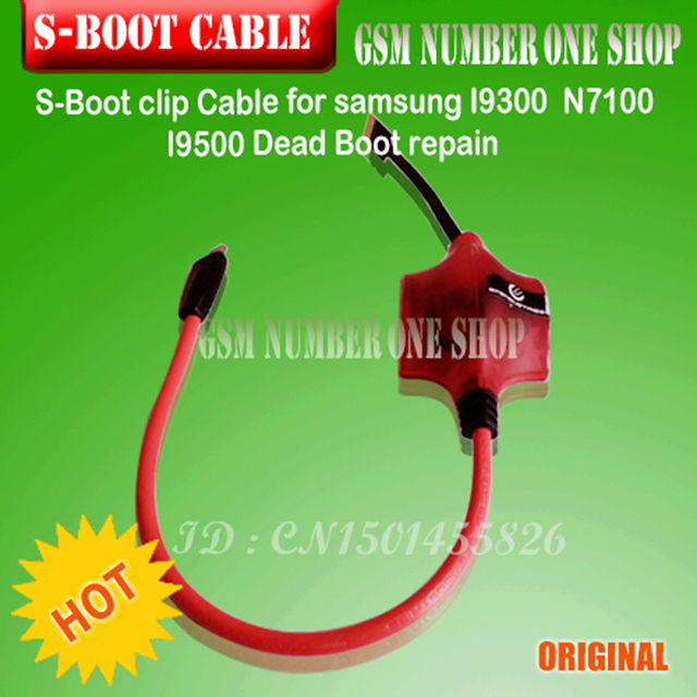 US $14 4 |GPG S Boot Clip For SamsungI9300 N7100 I9500 Dead Boot  repair(SBOOT S Boot cable )+free shipping-in Telecom Parts from Cellphones  &