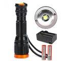 СВЕТОДИОДНЫЙ Фонарик CREE XM-L T6 2000 Люмен Высокая Мощность Регулируемый Фокус Масштабируемые охота кемпинг фонарь факел 5 режима Super Bright