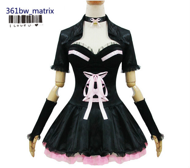 Wholesale Anime Neko Cat Sexy Girls Lolita Maid Costume -1026