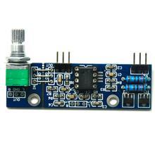 Mini NE5532 Preamplifier Board Com O Potenciômetro de Volume Bordo Terminou