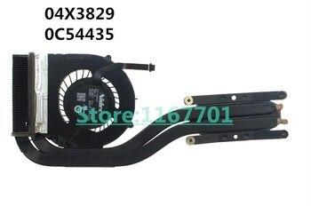 New Original Laptop/Notebook CPU cooling Radiator Heatsink&Fan for Lenovo ThinkPad X1C X1 Carbon 3rd 2015 04X3829 0C54435