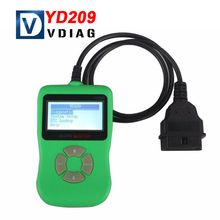 2016 New Arrival YD209 DIY Auto OBDII Code Scanner Update Online YD209 Code Reader with Free Shipping
