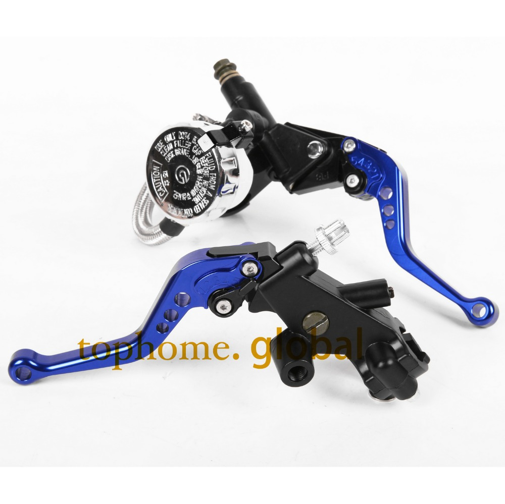 Front Brake Master Cylinder&Clutch Brake Levers 7/8with Adjustable Fluid Reservoir For Yamaha YZF-R15 2008-2009 2010 2011 cnc 7 8 for yamaha yz250f 2009 2014 motocross off road brake master cylinder clutch levers dirt pit bike 2010 2011 2012 2013