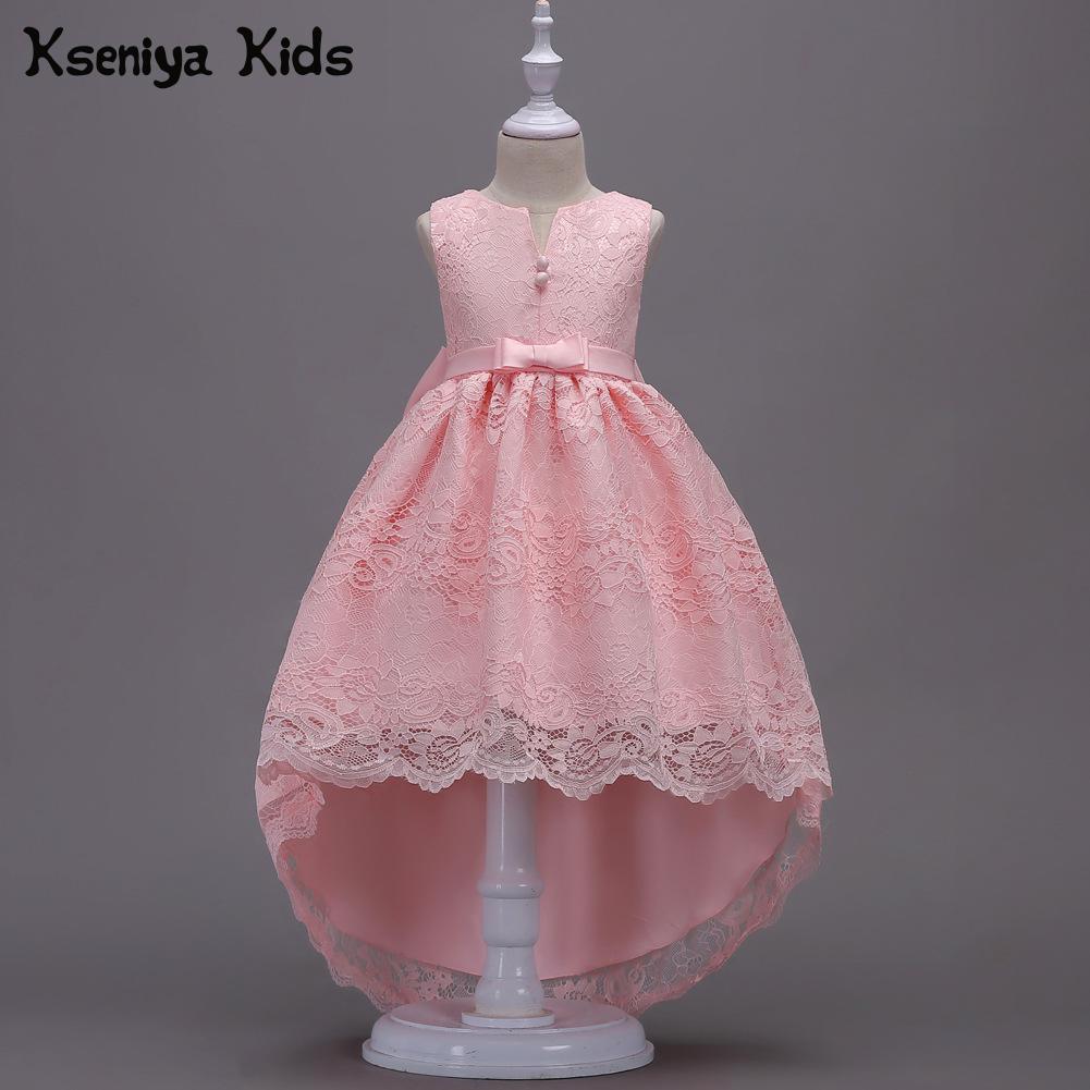Kseniya Kids Children's Princess Dress Wedding Dress Flower Girl Lace Dance Girls Clothes Flower Girl Dresses Princess Dress