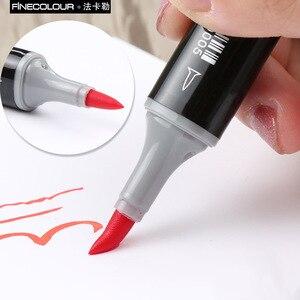 Image 5 - Finecolour EF102 Double Ended Borstel Art Markers 36/72/160 Zachte Vilten Tip Pen Draw Architectuur/Kleding/industrie/Interieur