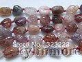 8SE09722a 9x12mm natural Spinel Nugget Beads