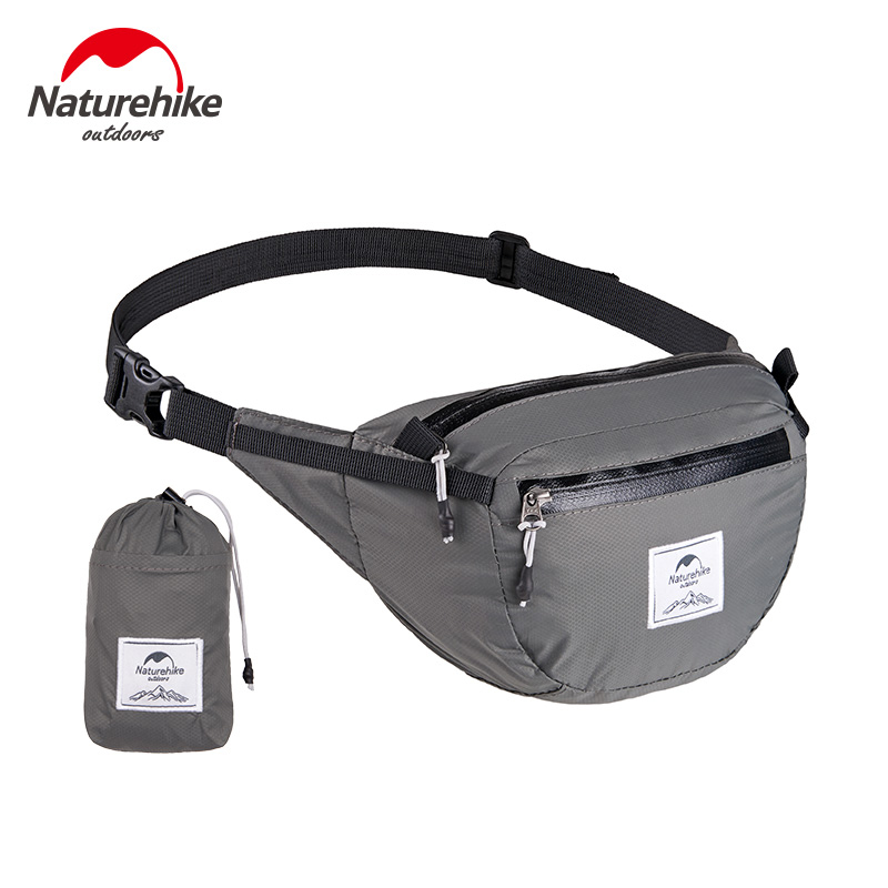 NatureHike Waterproof Waist Pack Bag Waist Bag Travel Hiking Cycling Sport Tactical Bag Outdoor 6L