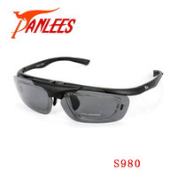 Panlees UV400 Flip Up Prescription Sunglasses Polarized Sun Glasses 4 Lens Gafas De Sol With RX