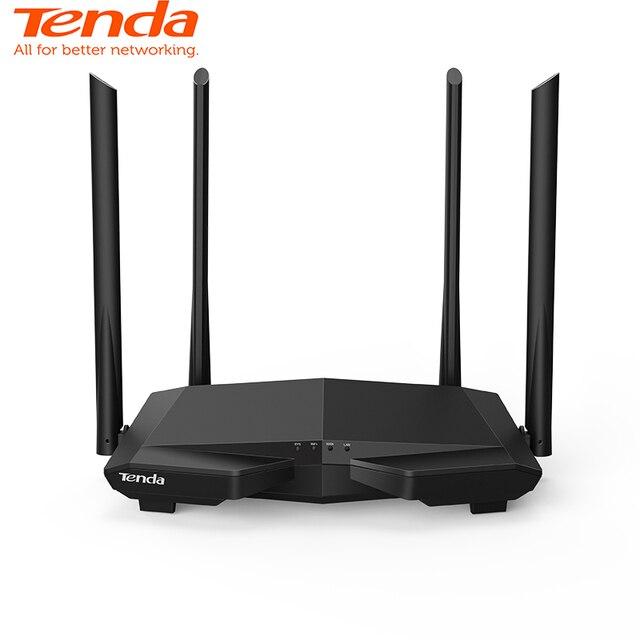 Tenda AC6 Çift Bant AC1200 2.4G/5.0 GHz Kablosuz WIFI yönlendirici Wi-Fi Tekrarlayıcı, APP Uzaktan Yönetme