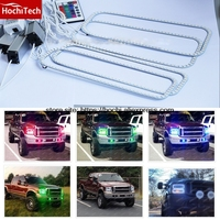 HochiTech RGB Multi Color LED Angel Eyes Halo Rings Super Brightness Car Styling For 2005 2007