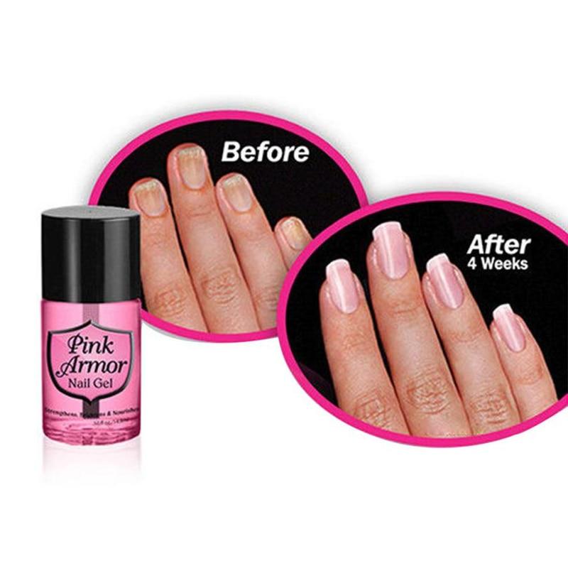 Pink Armour Gel Nail Polish