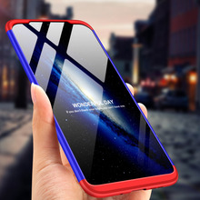 360 Degree Full Protection Hard Case For Nokia X7 Back Cover NokiaX7 shockproof case + glass Film for