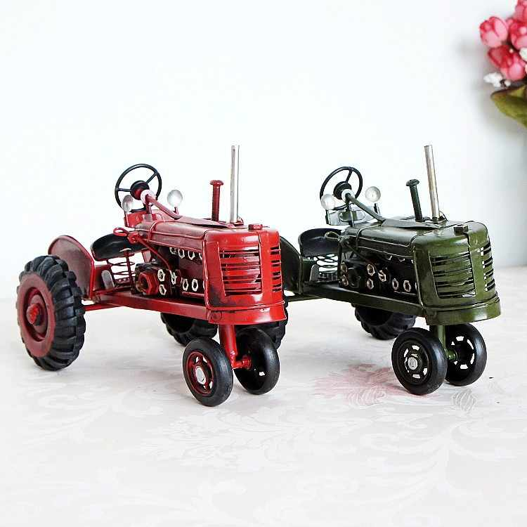 Retro Model Traktor Kenangan Yang Baik Hadiah 127246 Ukuran Opsional Rumah Dekorasi Aksesoris untuk Ruang Tamu Pedesaan Dekorasi Rumah