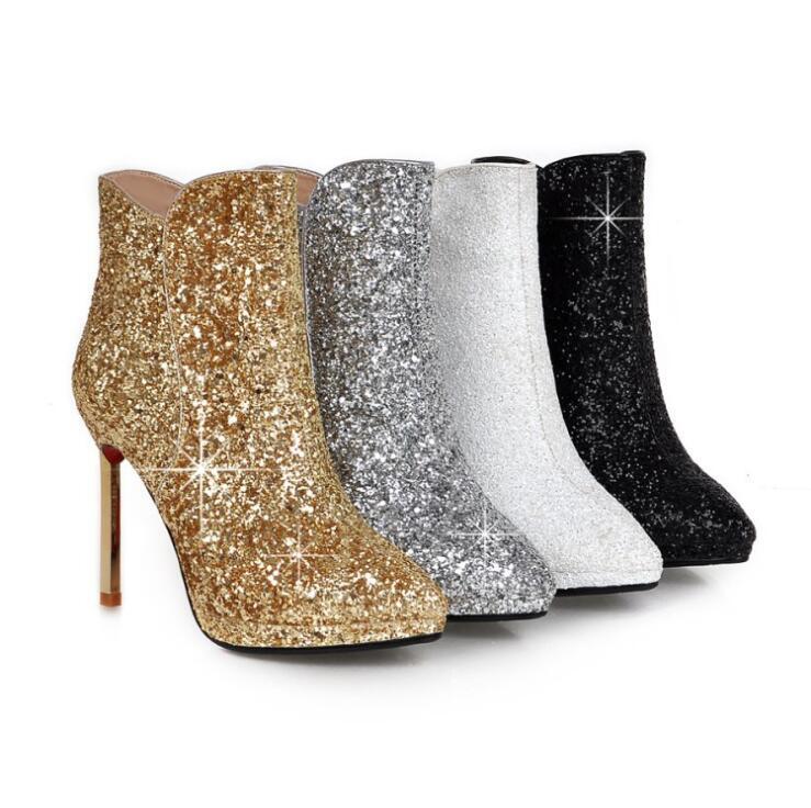 4 Für 2017 Wildleder Mujer Frauen 3 1 Bassiriana Mode Quadratische Ferse Stiefeletten 2 Botte Spitz Neue Hohe Femme Schuhe Botas rHHXgRqF
