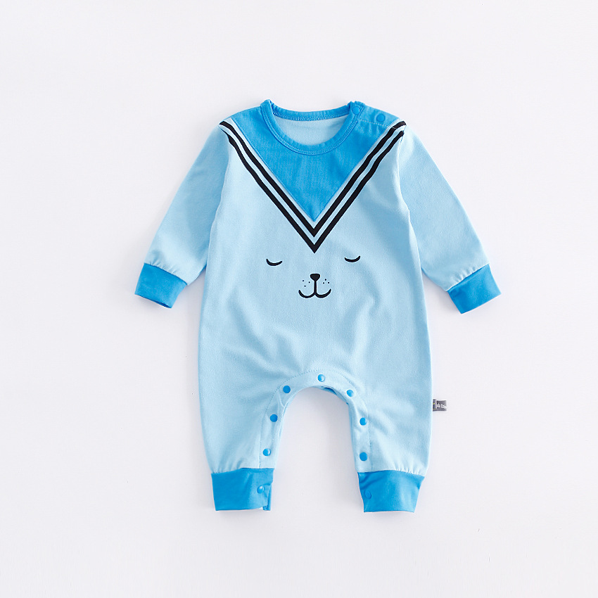 peninsula baby autumn winter infant climbing clothes cute carton animal dog thick cotton warm rompers soft comfortable jumpsuits warm thicken baby rompers long sleeve organic cotton autumn