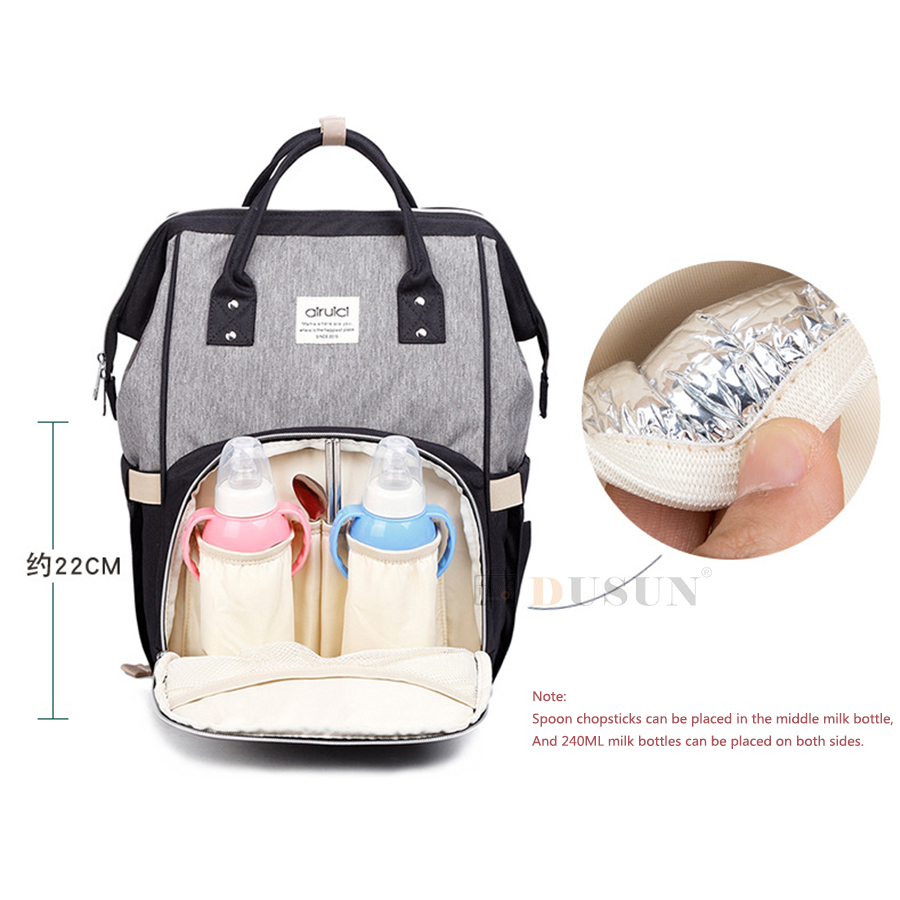 DUSUN Nappy Backpack Fashion Mummy Bag Large Capacity Multi-function Waterproof Nursing Travel Mochila Diaper Bags For Baby Tote diaper backpack large capacity baby bag multi function travel backpack nappy bags nursing bag fashion mummy
