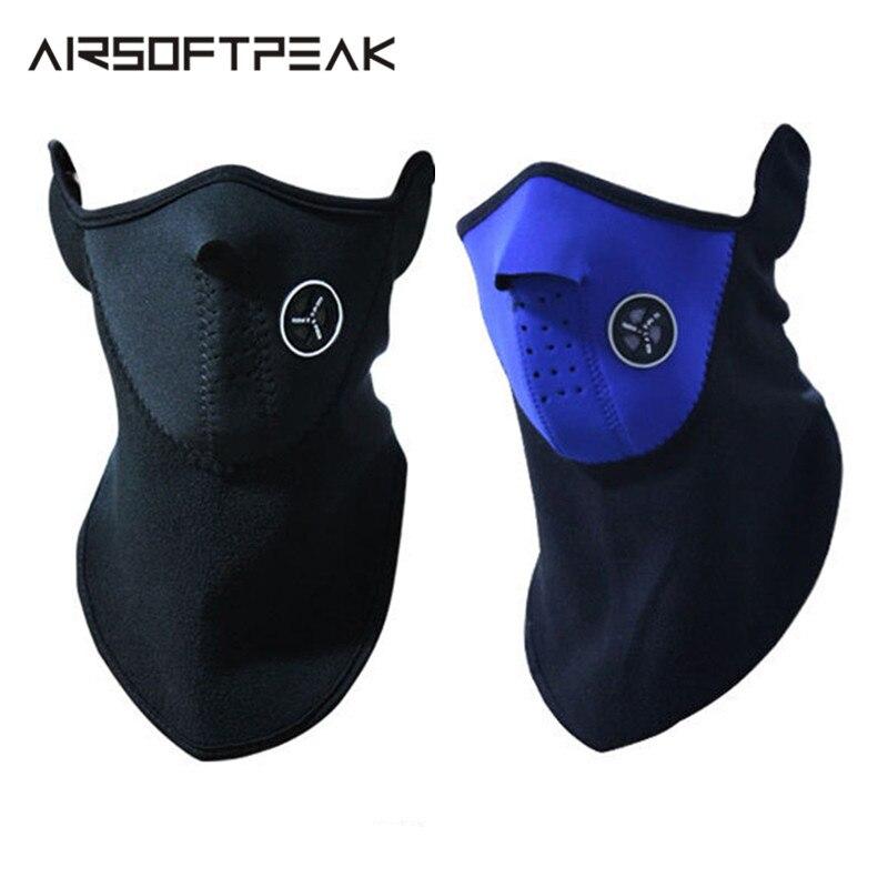 16cbd433a7d Outdoor Winter Thermal Fleece Face Mask Cap Hood Ski Cycling Warm Mask