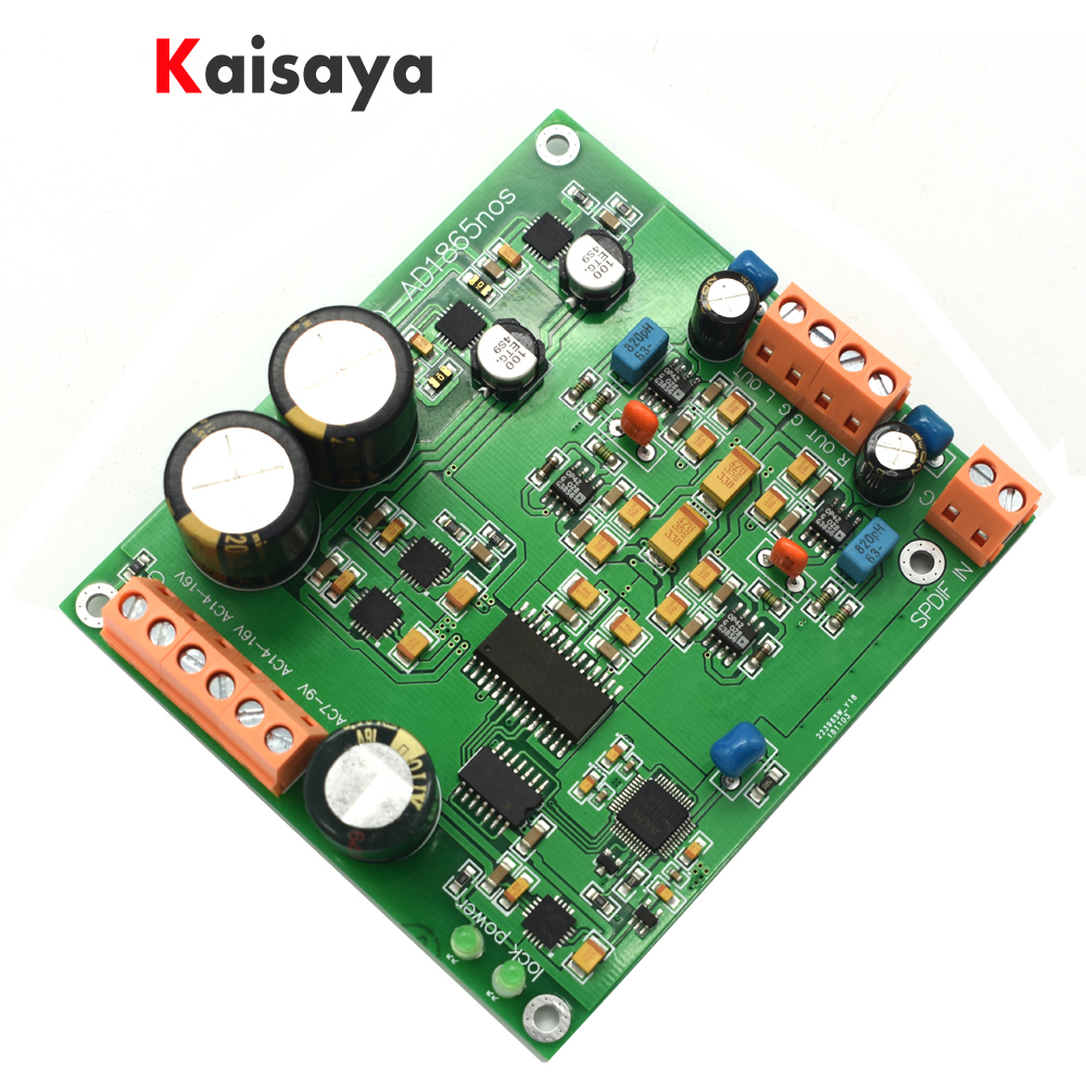 New AD1865 dac r2r decoding nos mode ak4118 support 24bit 192K for HiFi amplifier F7-006New AD1865 dac r2r decoding nos mode ak4118 support 24bit 192K for HiFi amplifier F7-006
