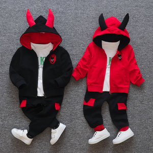 Image 4 - New products Baby clothes Childrens clothing suit  Cotton products for Boys  Three piece sets Spring and autumn Kids sets