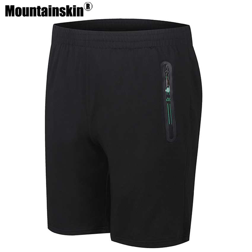 Mountainskin 2018 Solid Mens Shorts 8XL 7XL Summer Mens Beach Shorts Quick Dry Casual Boardshorts Male Shorts homme Thin SA258