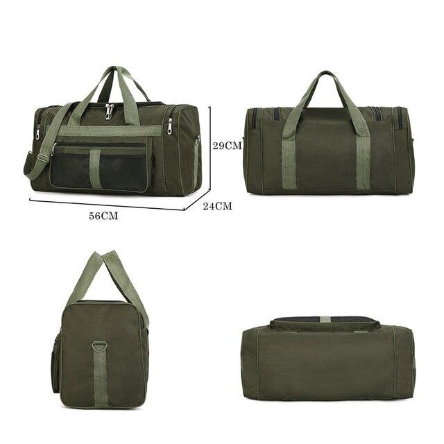 Nylon Luggage Gym Bags Outdoor Bag Large Traveling Tas For Women Men Travel Dufflel Sac De Sport Handbags Sack Bag 4