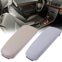 VODOOL Car Armrest Leather Center Console Lid Cover fit for Audi A4 B6 B7 02-07 Armrest Car Styling High Quality