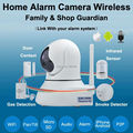 Melhor câmera Ip wi-fi sistema de alarme home sem fio do bebê Monitores de Pan/Tilt/Night Vision Internet Surveillance Camera Microfone Embutido