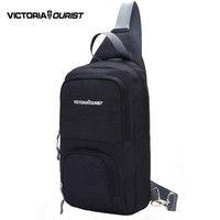 VICTORIATOURIST Casual Messenger Bag Men Shoulder Bags Waterproof Nylon Crossbody Pack V5008 Black Gray Blue