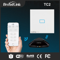 Original Broadlink RM2 RM Pro Smart Remote TC2 Light Touch Switch US AU 2Gang Wall Switch