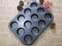 1PC 2016 New Pan Muffin Cupcake Bake Cake Mould Mold Bakeware 12 Cups Dishwasher Safe Versatile