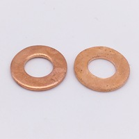 Red Copper spacer 25.45x29x0.25mm and 25.45x29x0.5mm