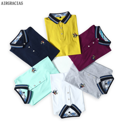 Airgracias 6 color mens polo shirt brands casual solid polo shirts brand clothing ralphmen short sleeve.jpg 250x250