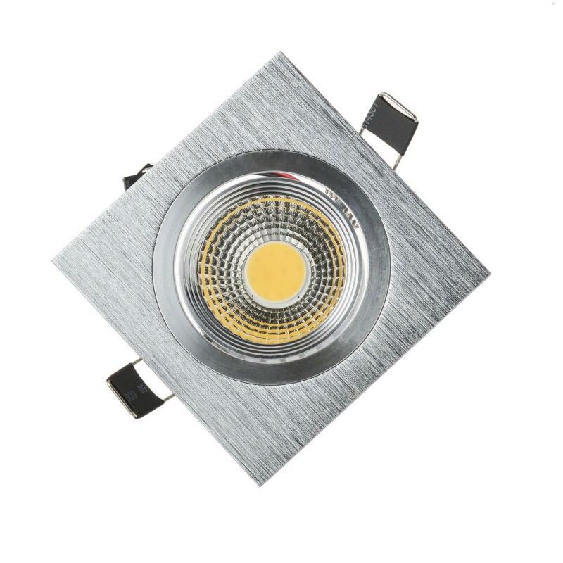 Новый супер яркий Встраиваемые dimmable светильники удара 3 Вт 5 Вт 7 Вт Светодиодные пятно света светодиодные украшения потолочный светильник AC...