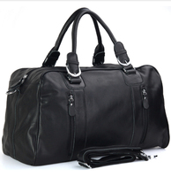 new duffle bag men genuine leather travel bag weekender bags casual style weekend overnight bag 1024