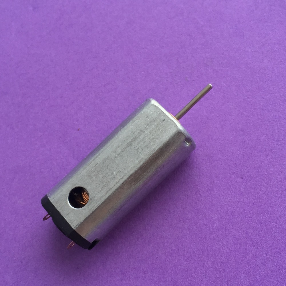1pc K820Y N50 Ferromagnetism Micro DC3.7-5V motor Hi-speed Large Torque with Heat Emission Hole DIY Parts