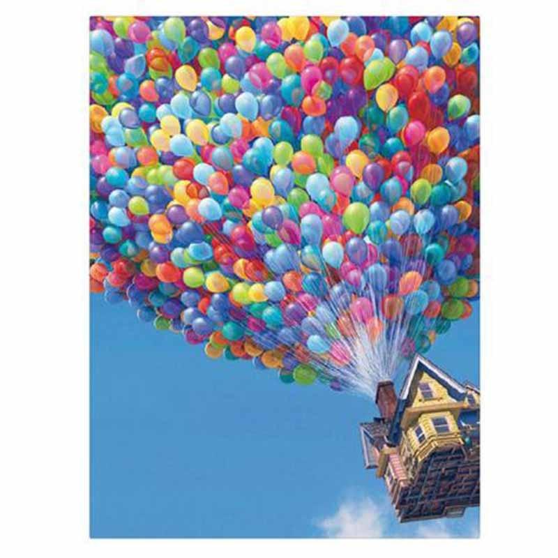 Домашнее украшение, искусство, сделай сам, 5d алмазная живопись, мультяшный фильм, воздушный шар, вышивка крестиком из смолы, алмазная вышивк...
