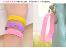 5pcs  Hot sale Mosquito Killer Repellent Bracelet,Mosquito Bangle Wrist For Baby Adult Protector
