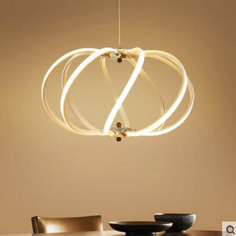 Restaurant hanging lamps postmodern minimalist creative personality bar table LED Nordic hair salon study chandelier led light modern minimalist restaurant hotel club bar lamps nordic postmodern creative personality chandelier