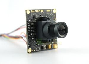 """Image 3 - 1/3 """"Sony effio e 4140 + 811 700TVL 2.8mm obiektyw szeroki widok CCD CCTV płytka kamery z menu osd płyta wiórowa dla kamera ochrony"""