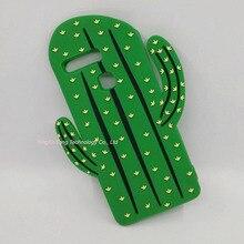 Cute 3D Cartoon Plant Cactus Cacti Silicone Capa For Huawei P8 P9 lite Y5ii Y5 II 2 G8 Honor 5X Fundas Rubber Cover Phone Cases
