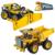 Nueva decool 3363 minería camión de building block toy bricks game boy leping regalo modelo de coche compatible con 42035 diy