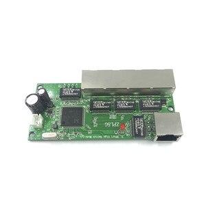 Image 5 - 5 port Gigabit schalter modul ist weit verbreitet in LED linie 5 port 10/100/100 0 m kontaktieren port mini schalter modul PCBA Motherboard