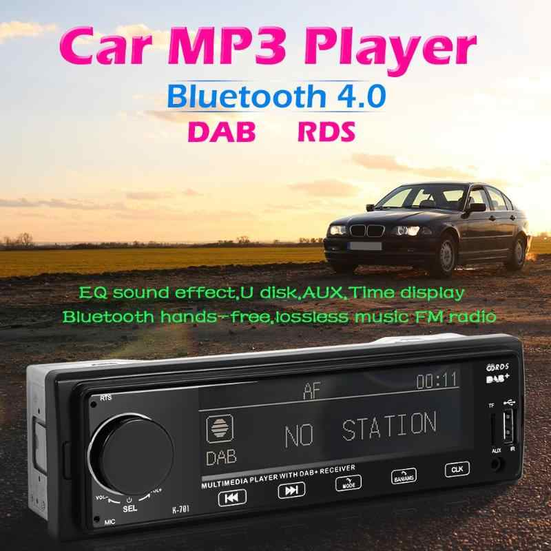 SWM K701 DAB Car Stereo MP3 Player Bluetooth RDS AUX AM FM Radio Receiver In Dash Head Unit