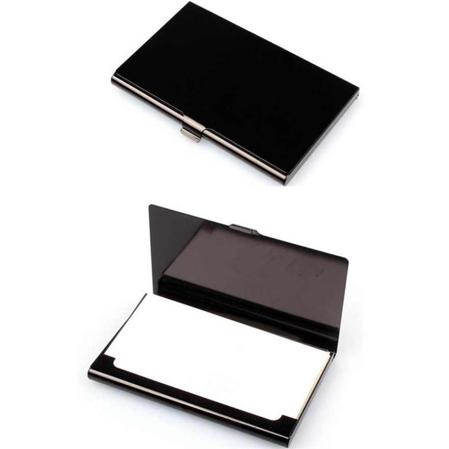 MOLAVE Holders Unisex wallet Solid card holder Alloy Creative Aluminum Holder Metal Box Cover Credit Business Card cover May30